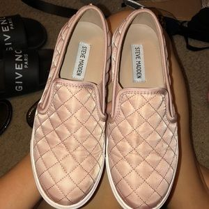 Shoes - Steven Madden Quilted Slip Ons